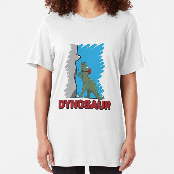 Dynosaur - Climbing & Boulder Slim Fit T-Shirt
