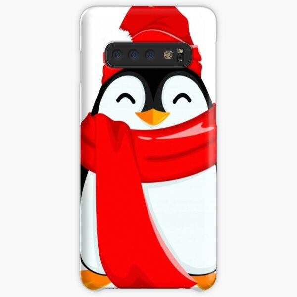 Happy Santa for the Baby Penguins Samsung Galaxy Snap Case