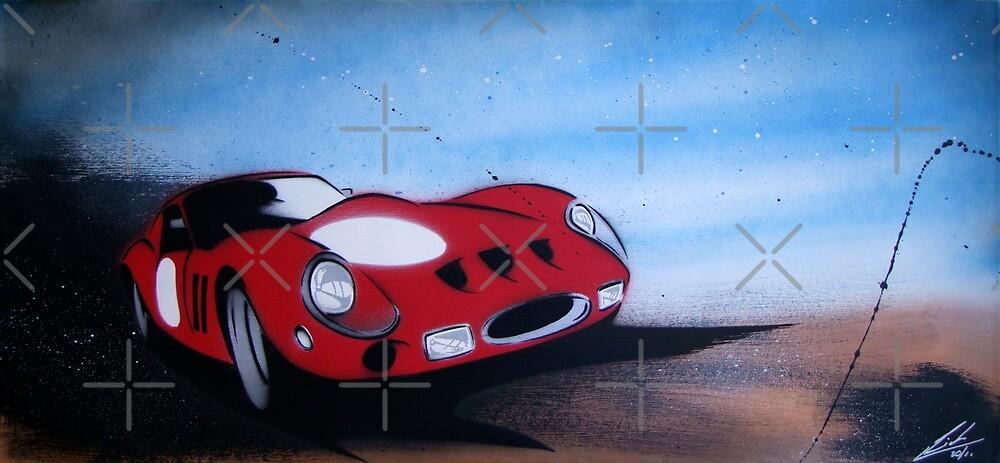 Monaco GTO Painting by yeomanscarart