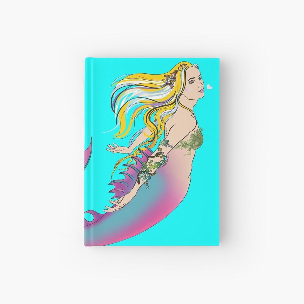 Aqua Hardcover Journal: Jaime the Mermaid by Ali Hardcover Journal