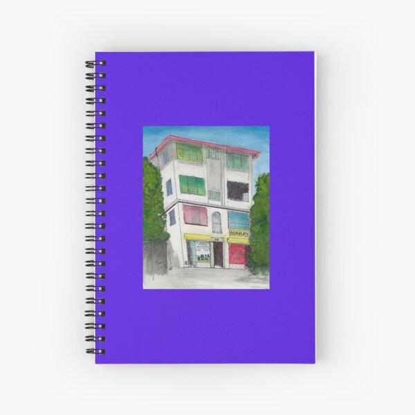 Moncur Street architecture Spiral Notebook