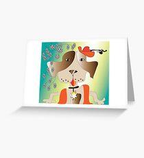 Sherriff Greeting Card