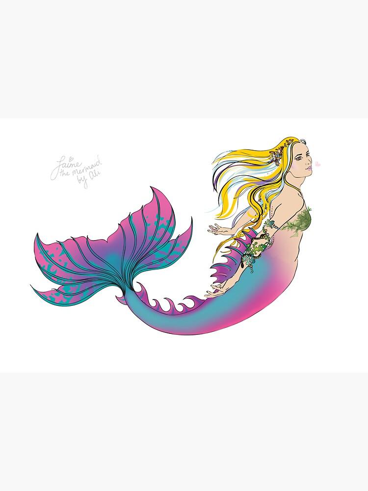 Drink Bottle & Travel Mug: Jaime the Mermaid by Ali by jaimethemermaid