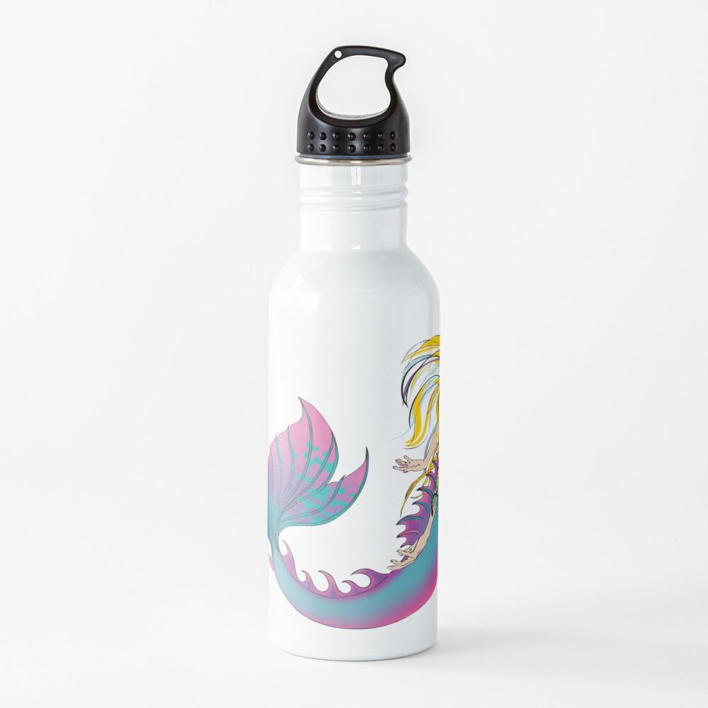 Drink Bottle & Travel Mug: Jaime the Mermaid by Ali Water Bottle