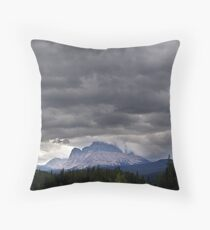 A Crown of Clouds Throw Pillow