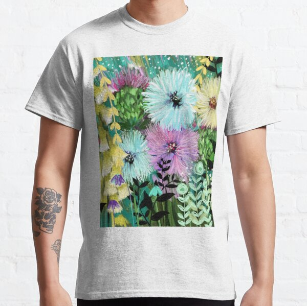 Candy Floral Forest Meadow Classic T-Shirt