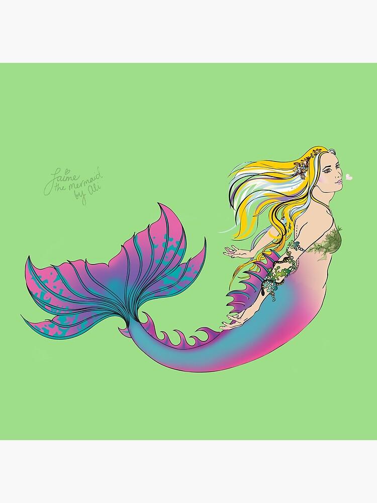 Home Accessories: Jaime the Mermaid by Ali by jaimethemermaid
