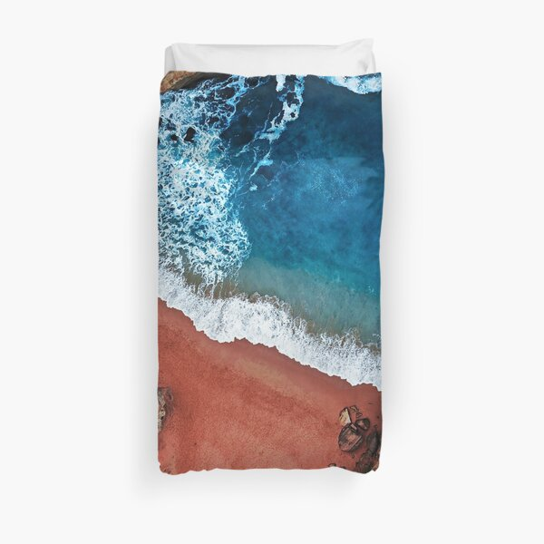 Australian Beach | Aerial Fine Art Photo Duvet Cover