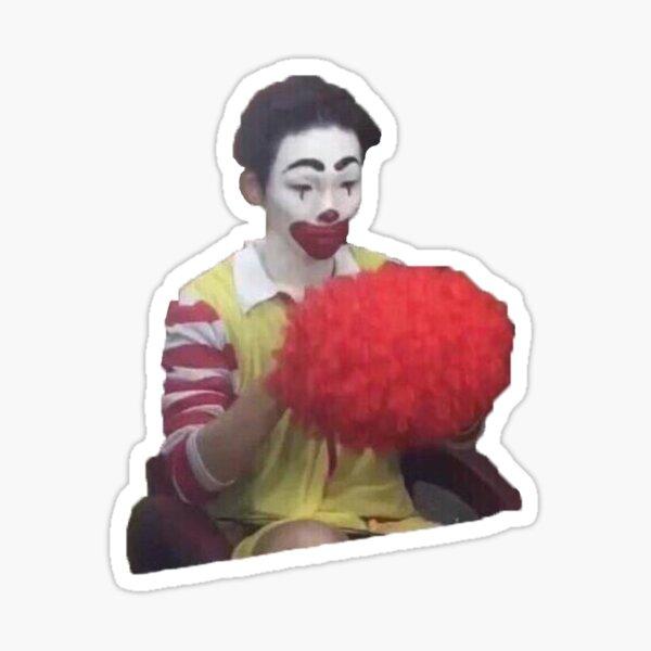 key clown meme Sticker