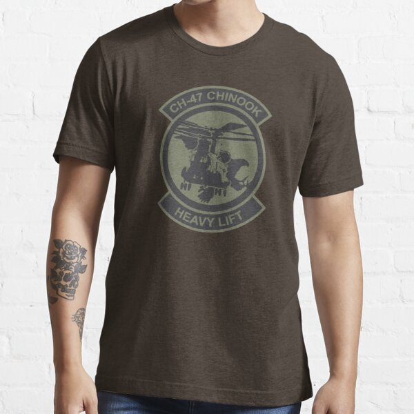 CH-47 Chinook Patch Essential T-Shirt