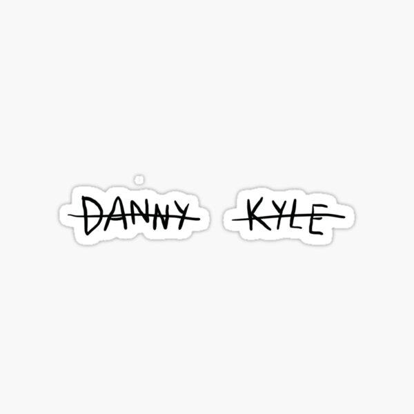 Ladybird Danny and Kyle Sticker
