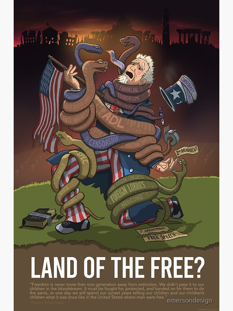 Uncle Sam: Land of the Free? by emersondesign