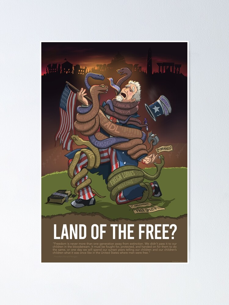 Alternate view of Uncle Sam: Land of the Free? Poster