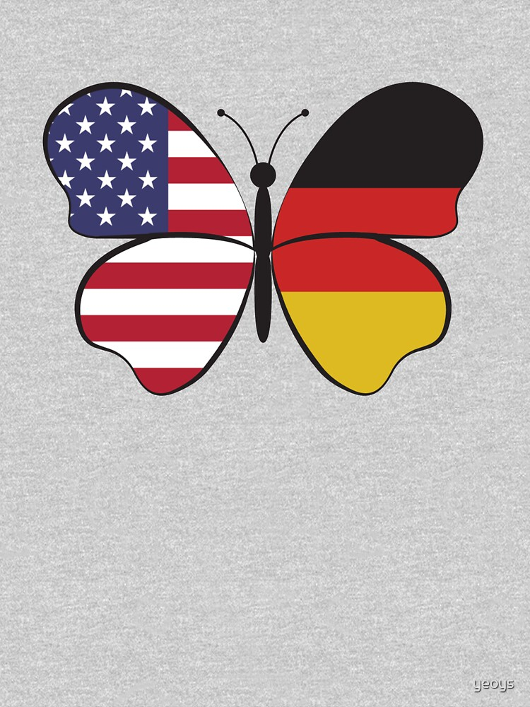 USA Germany Butterfly - Dual Citizenship by yeoys