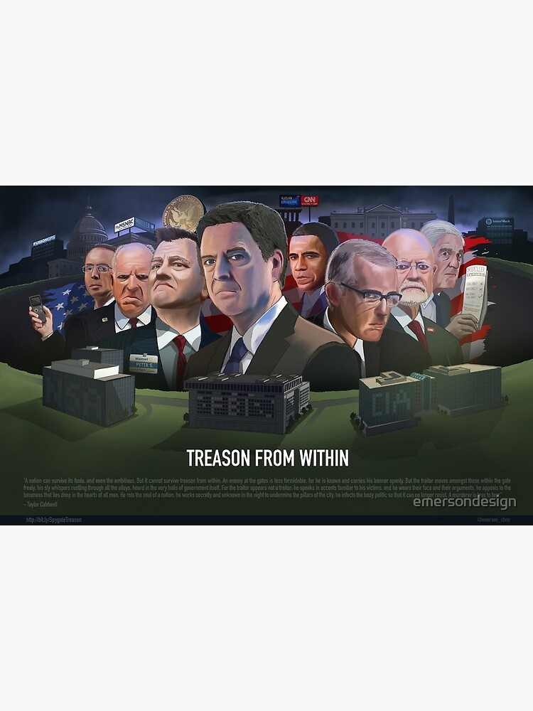 Spygate: Treason from Within by emersondesign