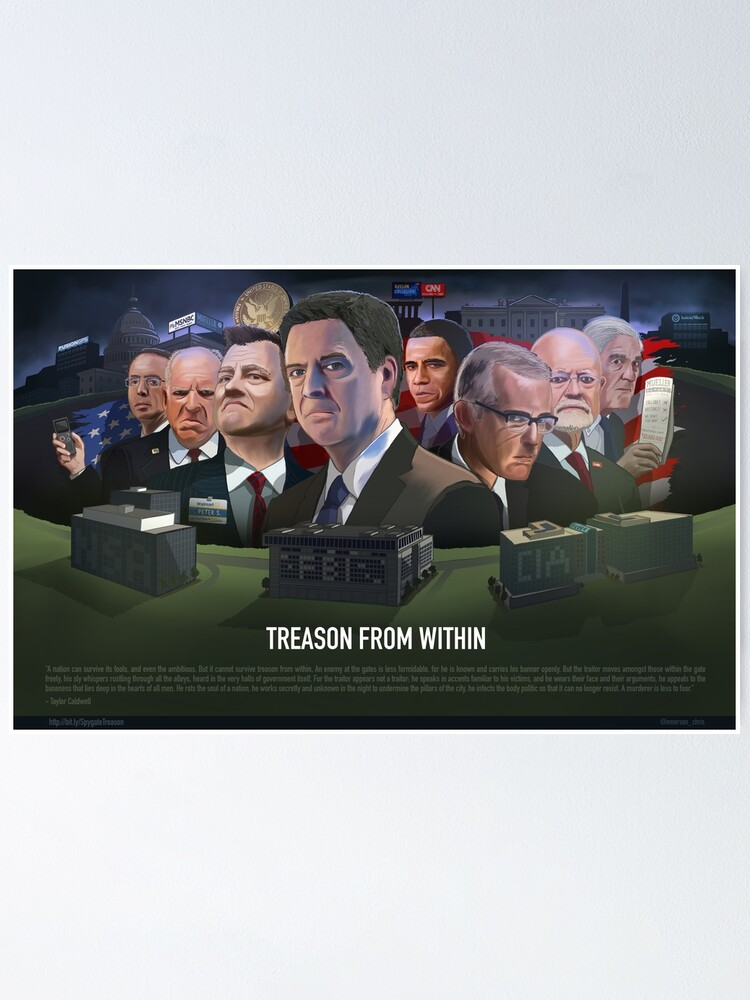 Alternate view of Spygate: Treason from Within Poster