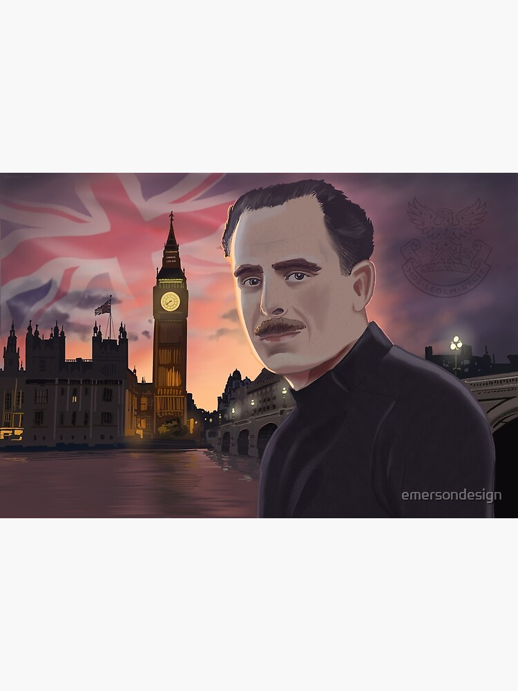 Sir Oswald Mosley by emersondesign
