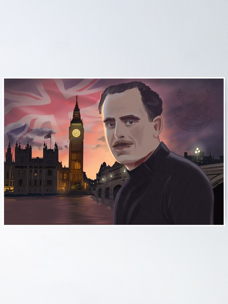 Alternate view of Sir Oswald Mosley Poster