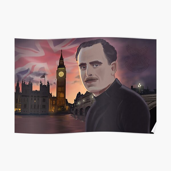 Sir Oswald Mosley Poster