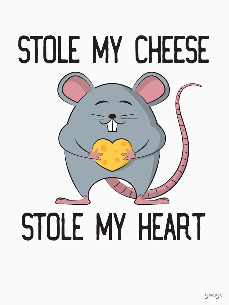 Stole My Cheese Stole My Heart - Rat Mom by yeoys