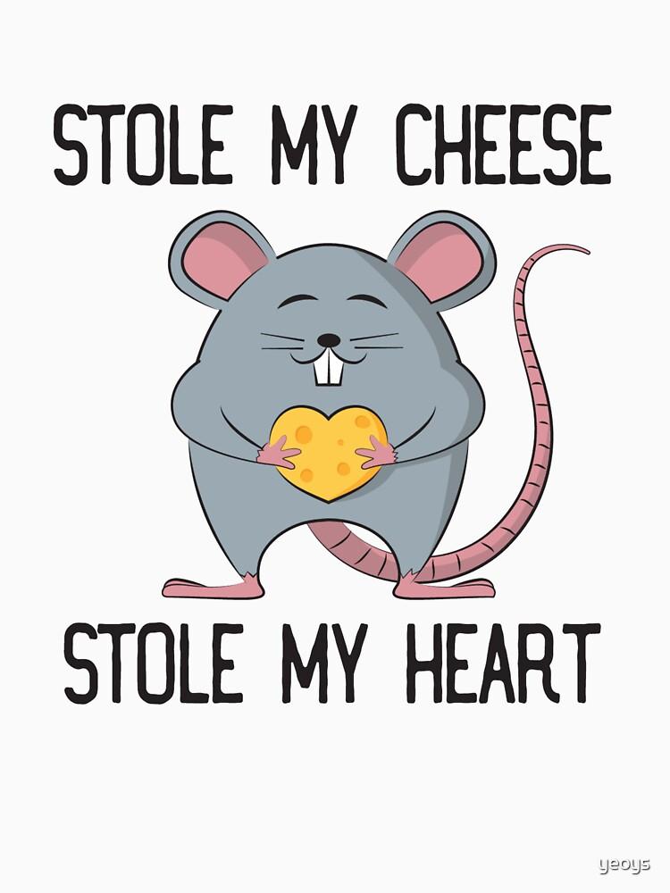 Stole My Cheese Stole My Heart - Rat Mom von yeoys