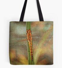 Golden Skimmer Tote Bag
