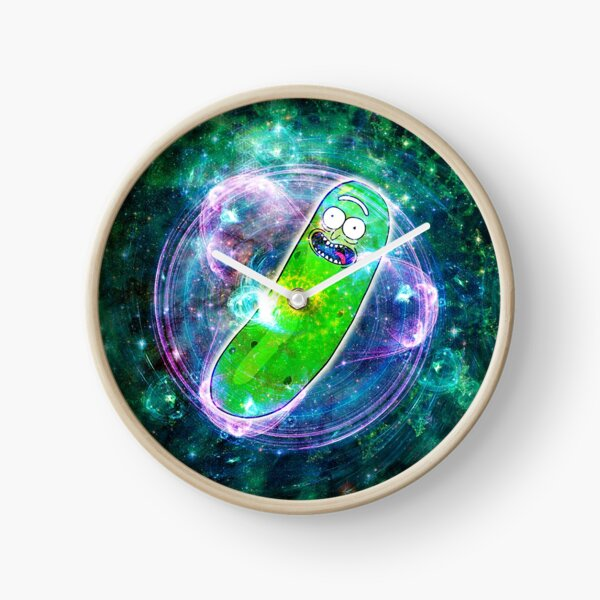 Pickle Rick in Space | Rick and Morty | Flower of Life Clock