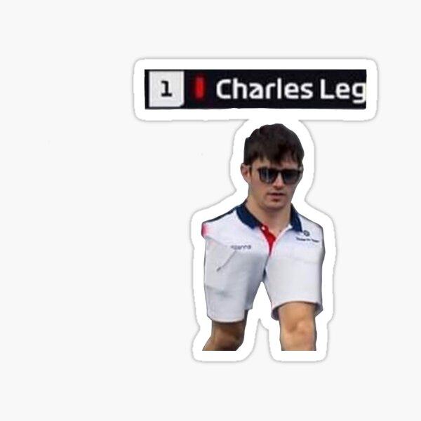 Charles Leg Sticker