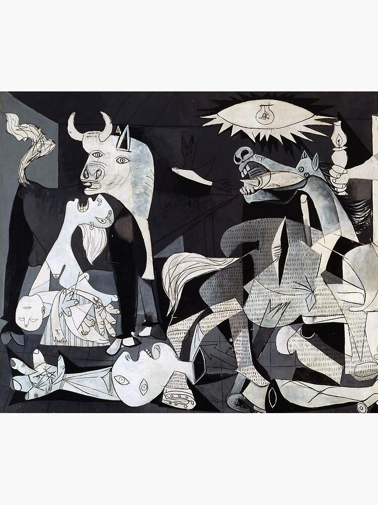Pablo Picasso Guernica 1937 Original Artwork Reproduction by clothorama
