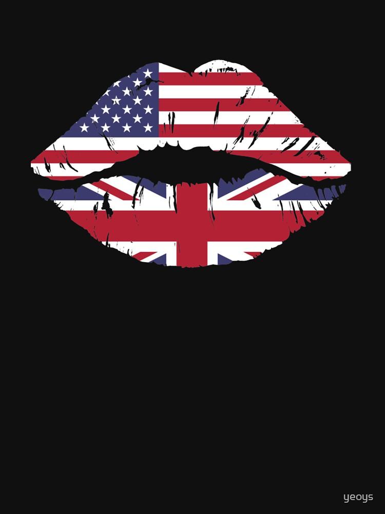 USA United Kingdom Kiss - Dual Citizenship by yeoys