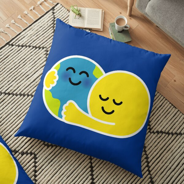 Be kind to our earth Floor Pillow