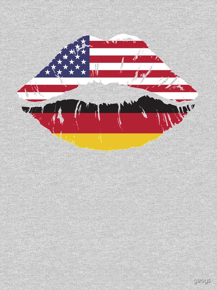 USA Germany Kiss - Dual Citizenship von yeoys