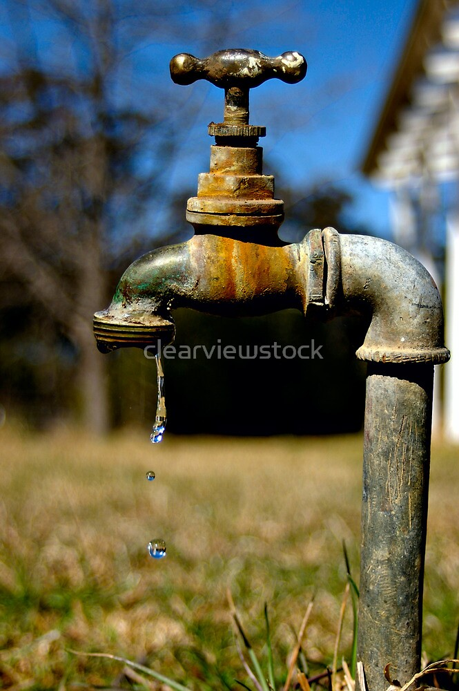 Dripping Tap by clearviewstock