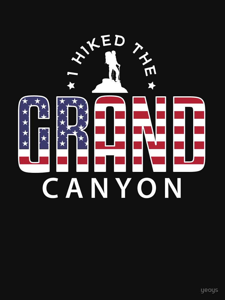 I Hiked The Grand Canyon - Hiking by yeoys