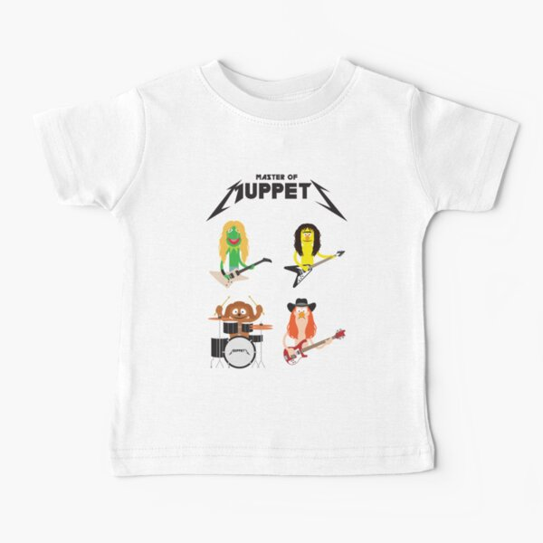 Master of Muppets - Muppets as Metallica Band Baby T-Shirt