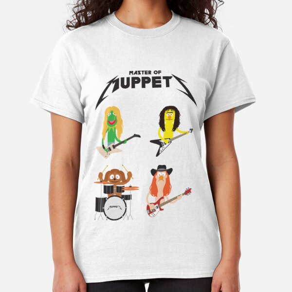 Master of Muppets - Muppets as Metallica Band Classic T-Shirt