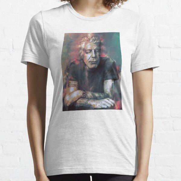BEST SELLER ANTHONY BOURDAIN FULL COLOR Essential T-Shirt