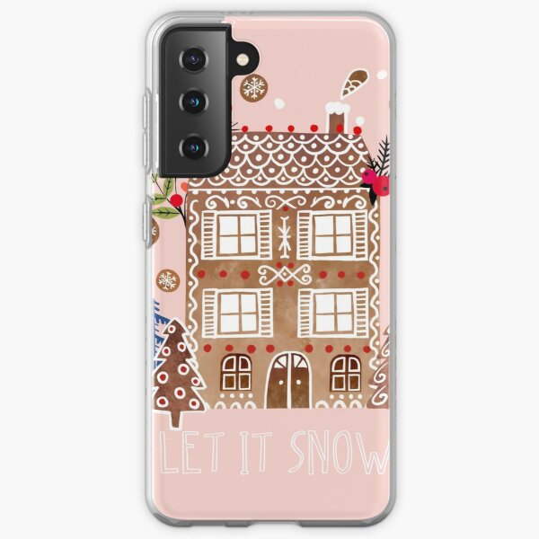 let it snow Samsung Galaxy Soft Case