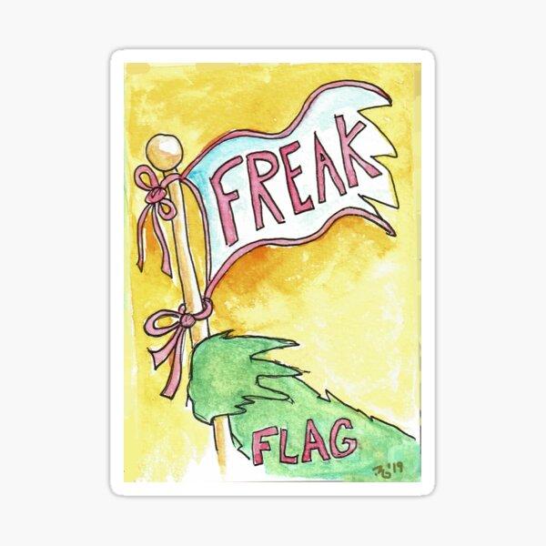 Freak Flag Sticker