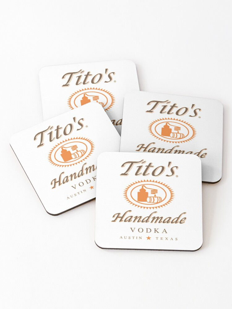 Set Of 4 Tito/'s Vodka Gift Bag FREE SHIPPING  These are NWT.