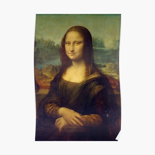 La Joconde, Portrait de Mona Lisa (1503-1506) - Léonard de Vinci Poster