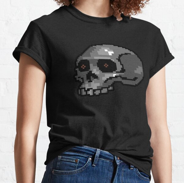 Petscii Skull Classic T-Shirt