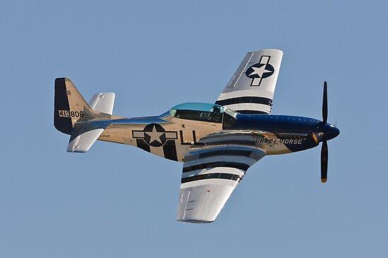 P-51 Mustang - Crazy Horse by Joe Elliott