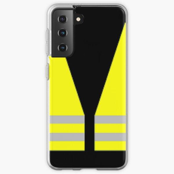 #Yellow, #high-#visibility #clothing, patriotism, symbol, design, illustration, rows, striped Samsung Galaxy Soft Case