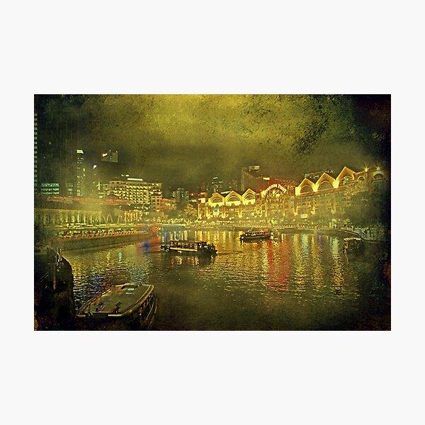 """Singapore..."" Photographic Print"