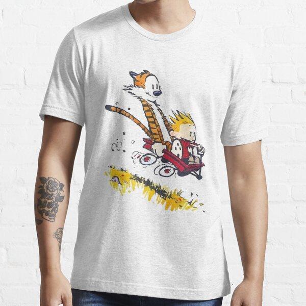 calvin et hobbes heureux T-shirt essentiel
