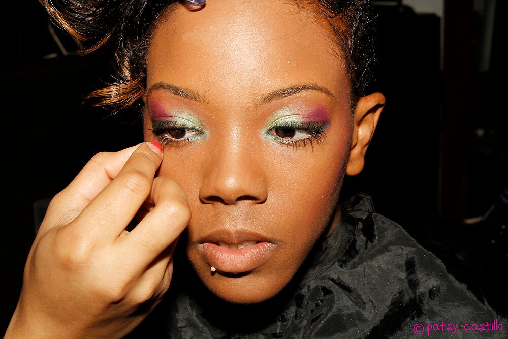 Colorful Eyeshadow by Patsy Castle