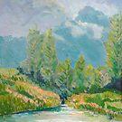 Nerang River Creek , Clagiraba by Virginia McGowan