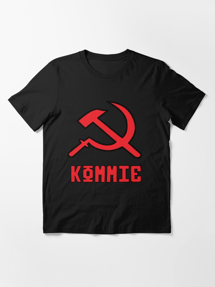 Alternate view of Kommie - Hammer And Sickle Logo Essential T-Shirt