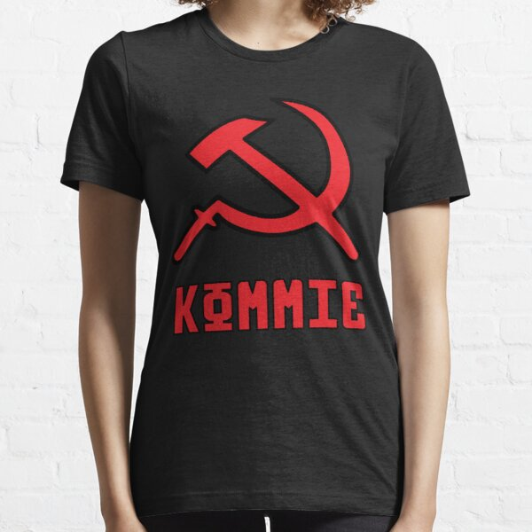 Kommie - Hammer And Sickle Logo Essential T-Shirt